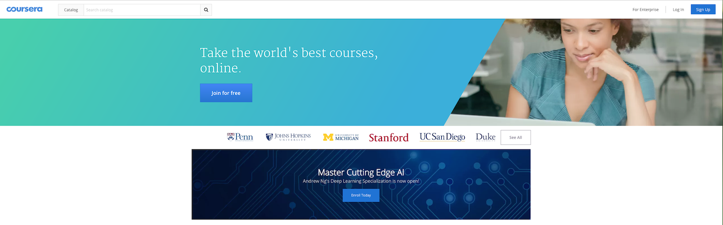 continuous learning coursera