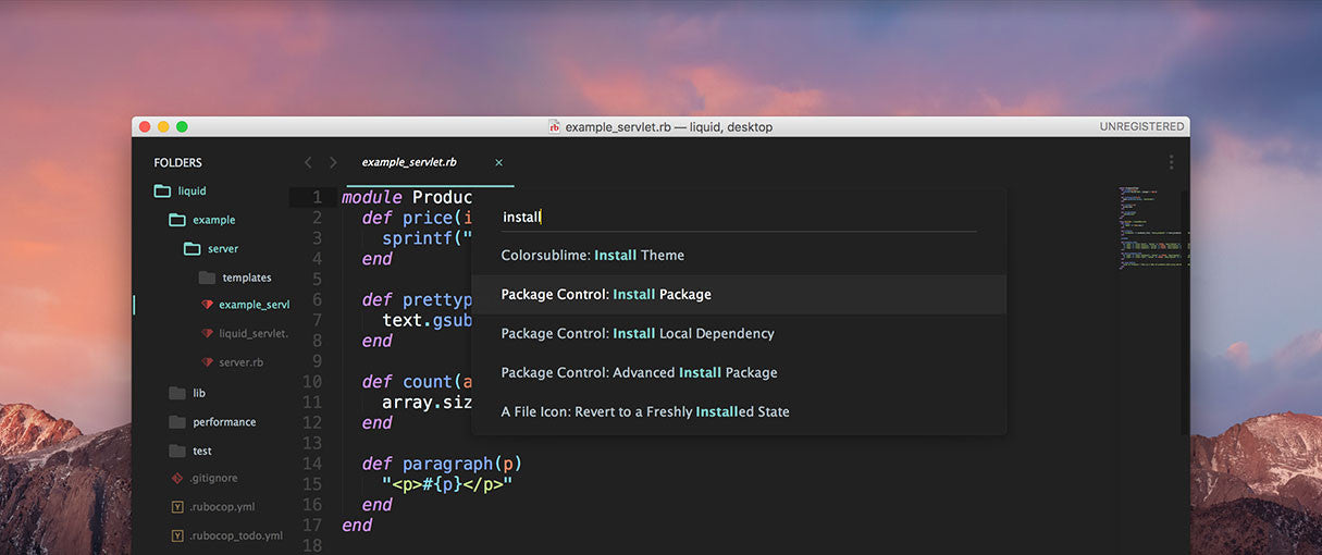 The Best Sublime Text Plugins for Front End Developers