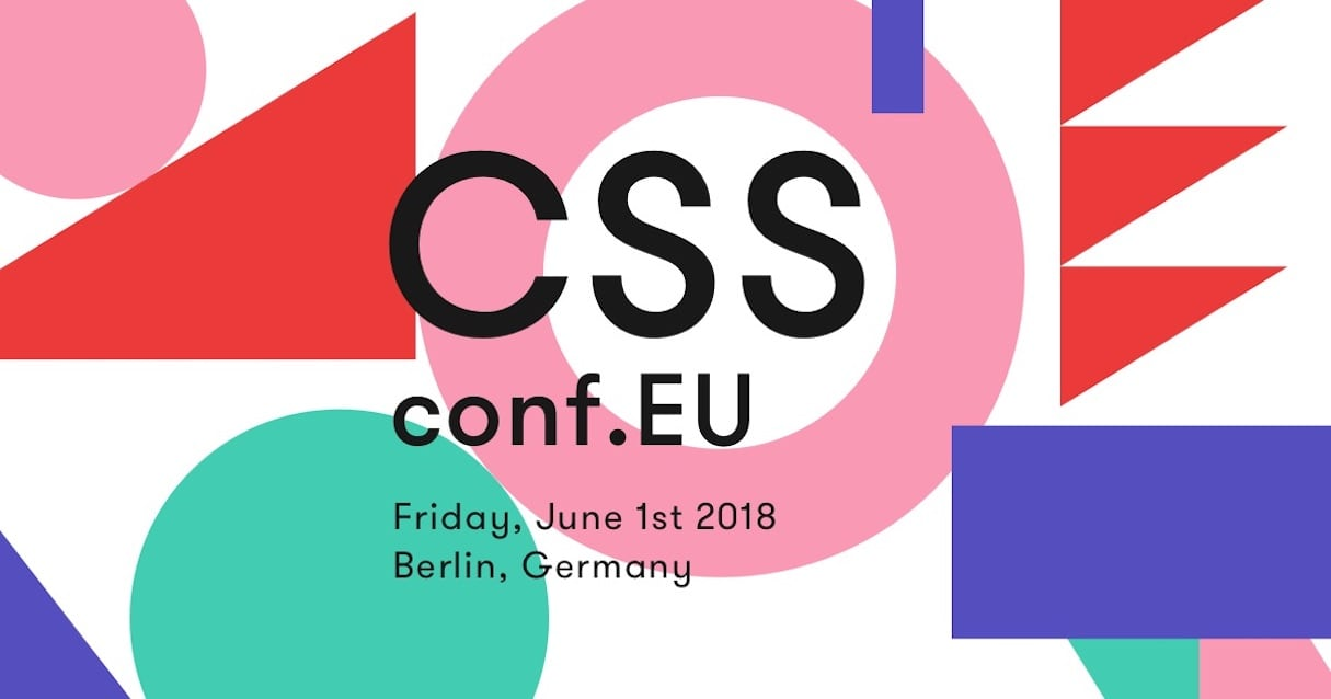 design conferences 2018: css