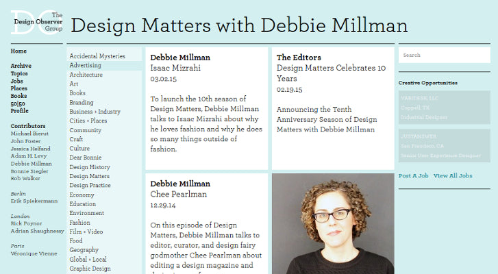 Web Design and Development Podcasts: Design Matters