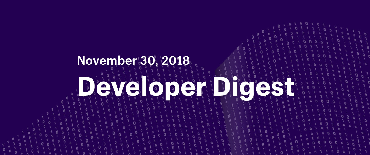 developer digest december 2018