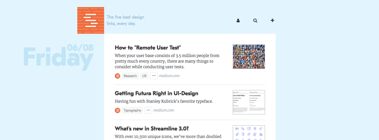 developer newsletter: sidebar