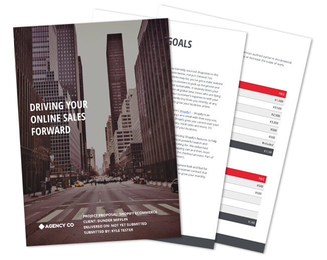 Ecommerce Proposal Guide: Driving Sales