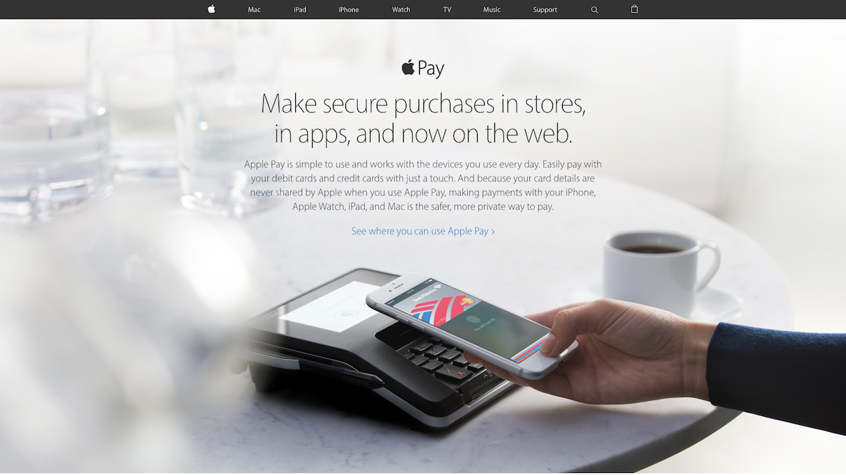 ecommerce trends 2017: Apple Pay