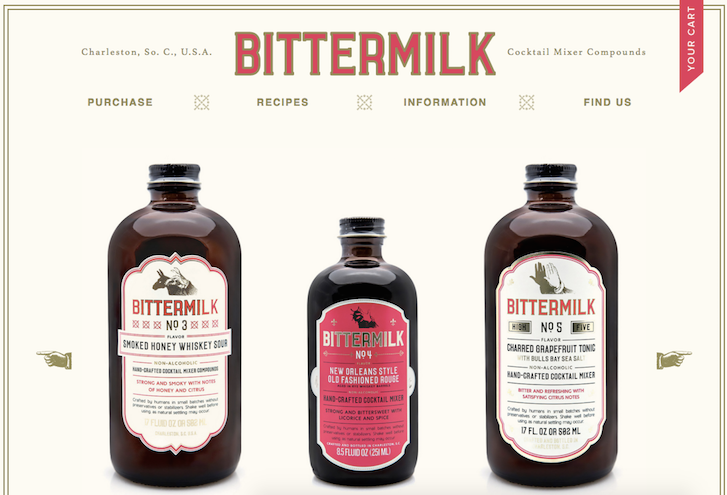 Ecommerce Website Design - Bittermilk