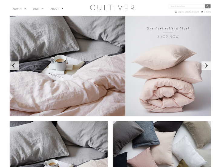 Ecommerce Website Design - Cultivar