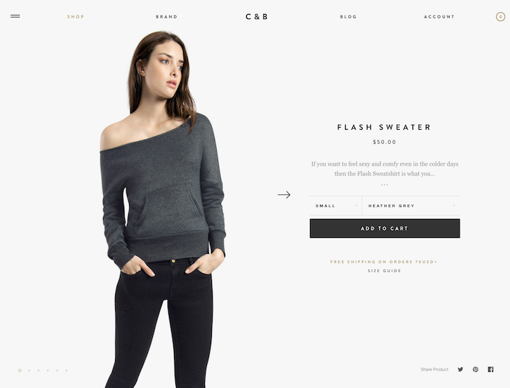 Ecommerce Website Design - Cute and Broke