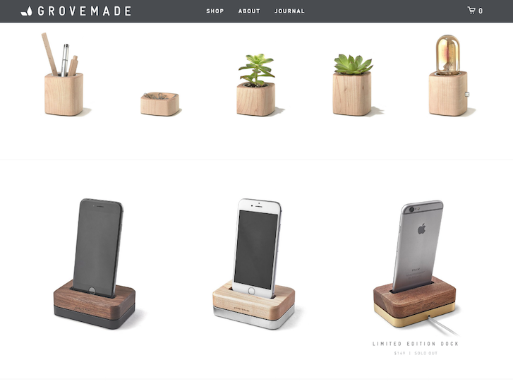 Ecommerce Website Design - Grovemade