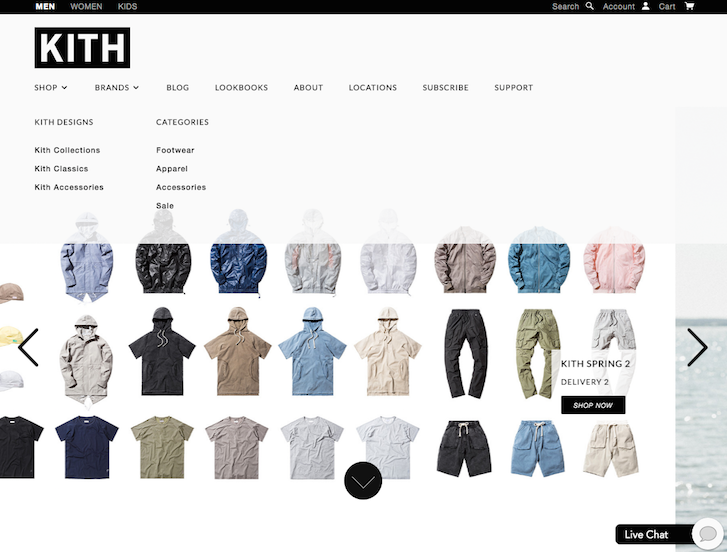 Ecommerce Website Design - A number of names