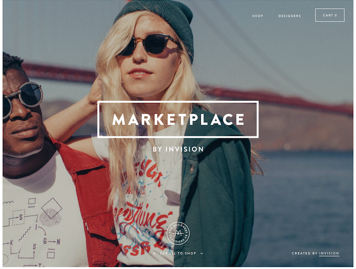 Ecommerce Website Design - InVision