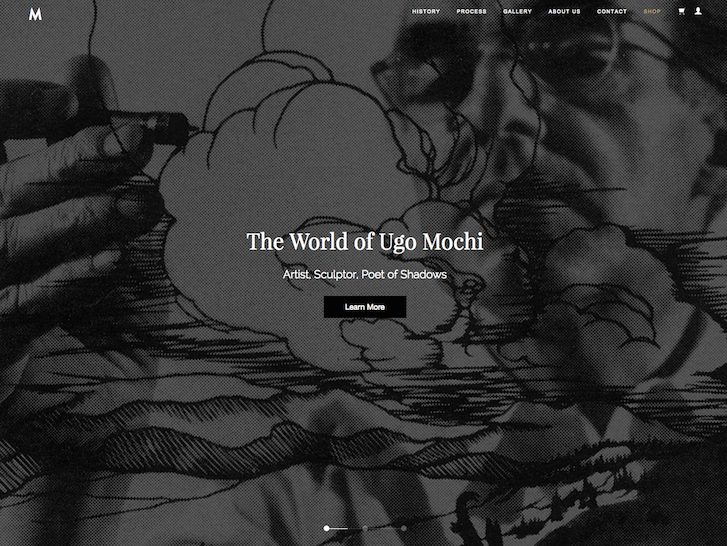 Ecommerce Website Design - Ugo Mochi