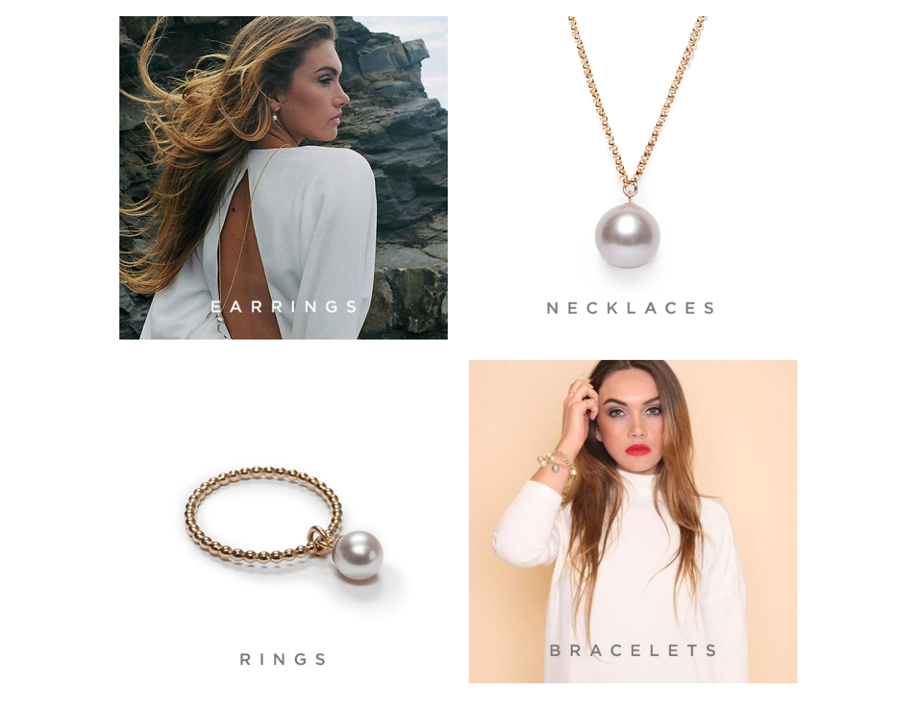 Ecommerce Website Design - Ora Pearls