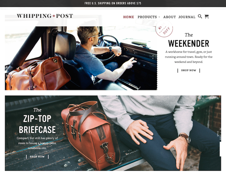 Ecommerce Website Design - Whipping Post