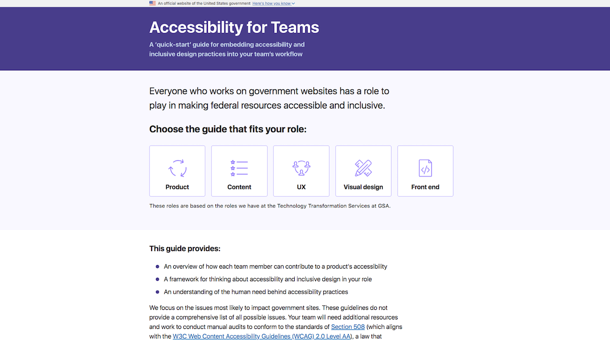 establish trust: accessibility