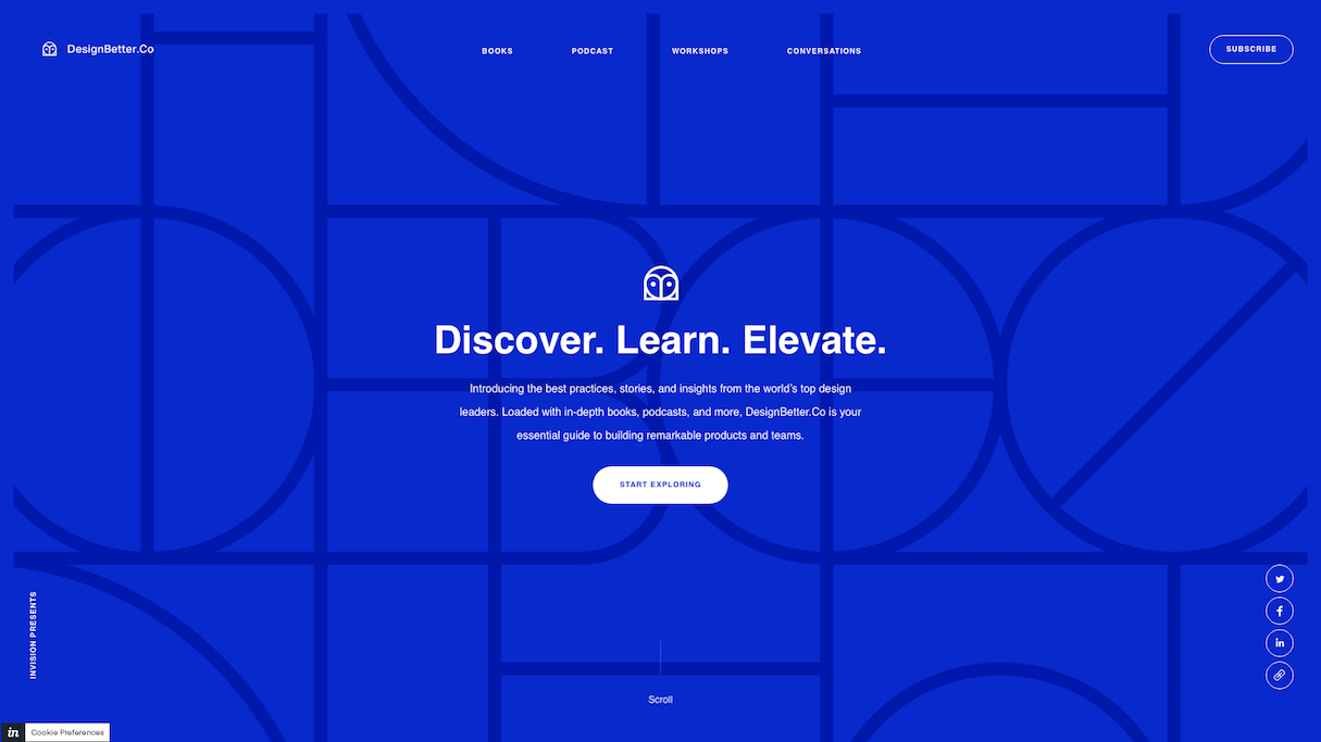 establish trust: designbetter