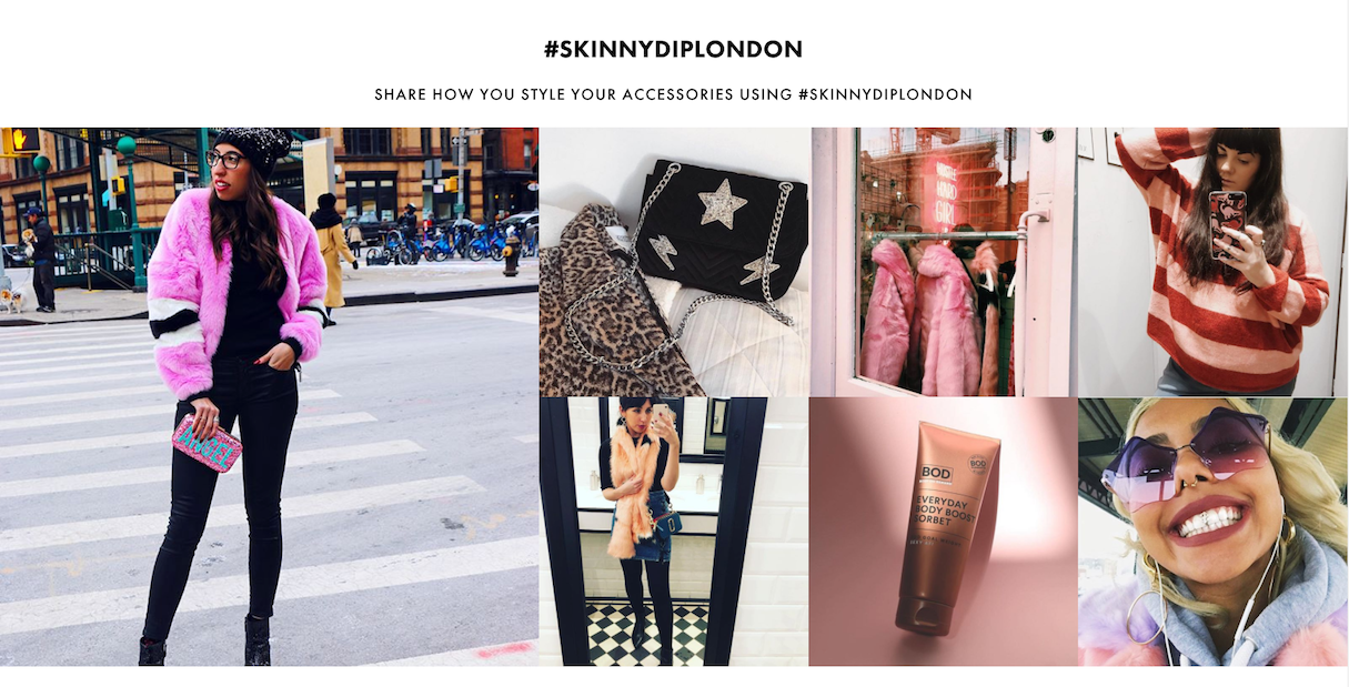 featured products: skinnydip london