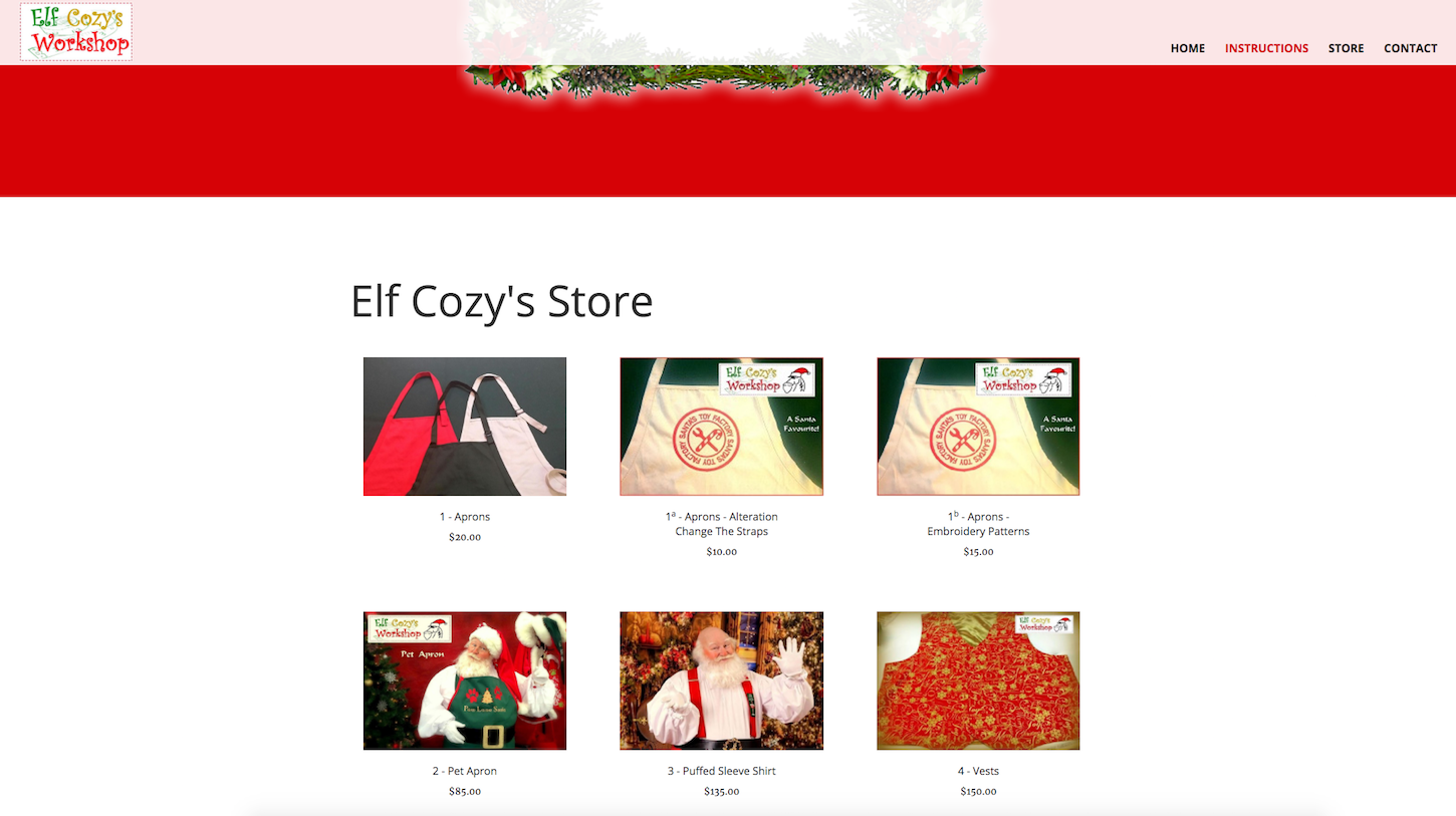 Four smart reasons to embed a shopify store: Elf cozy