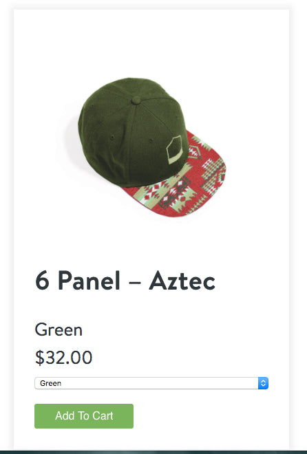 Four Smart Reasons to Embed a Shopify Store: Green Hat