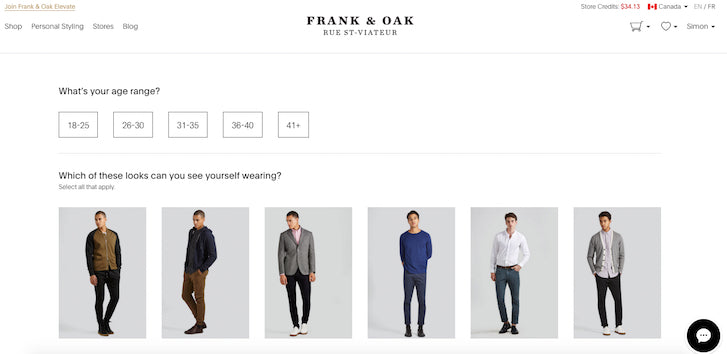 Desiging Ecommerce Site that Converts: Frank and Oak