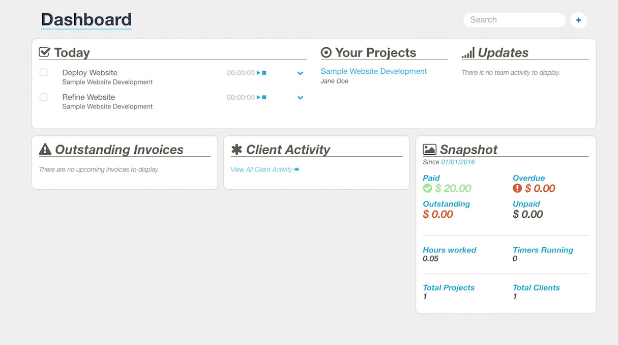 invoicing for freelancers