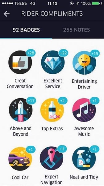gamification-in-business-uber-badges