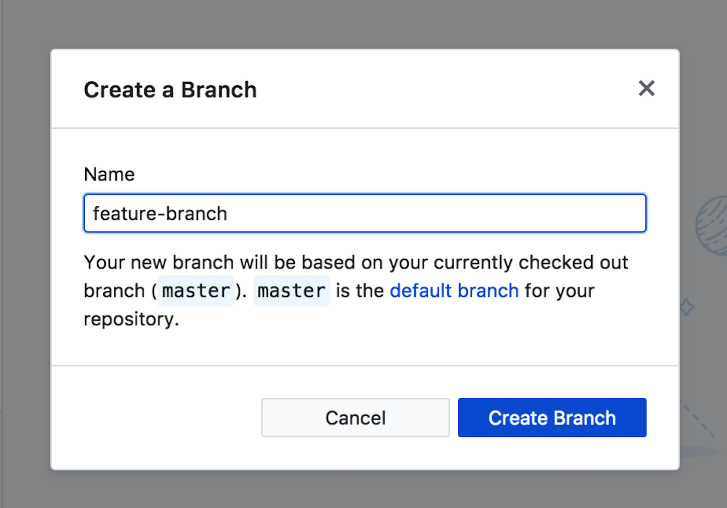 git guide: create branch