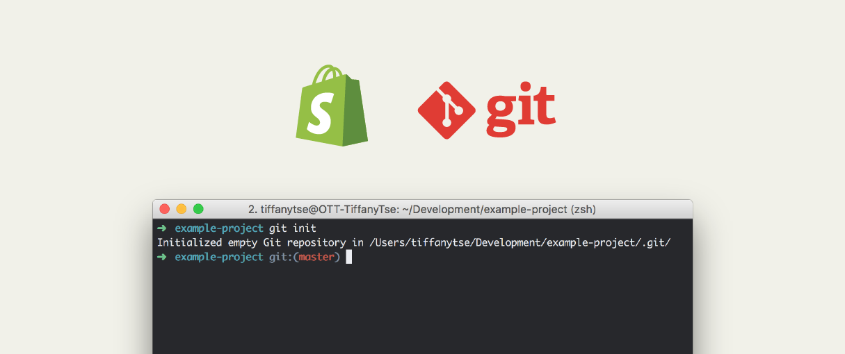A Beginner's Git Guide with Shopify