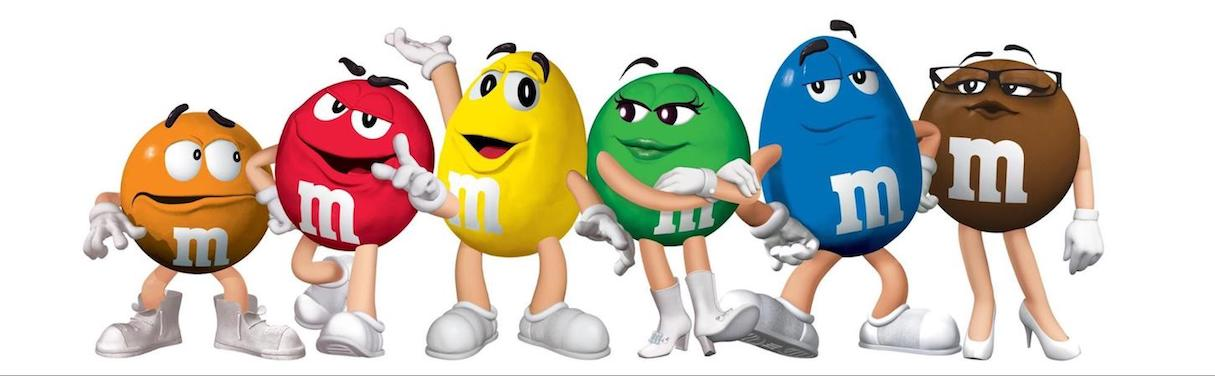 humor-in-design-m&ms-mascot
