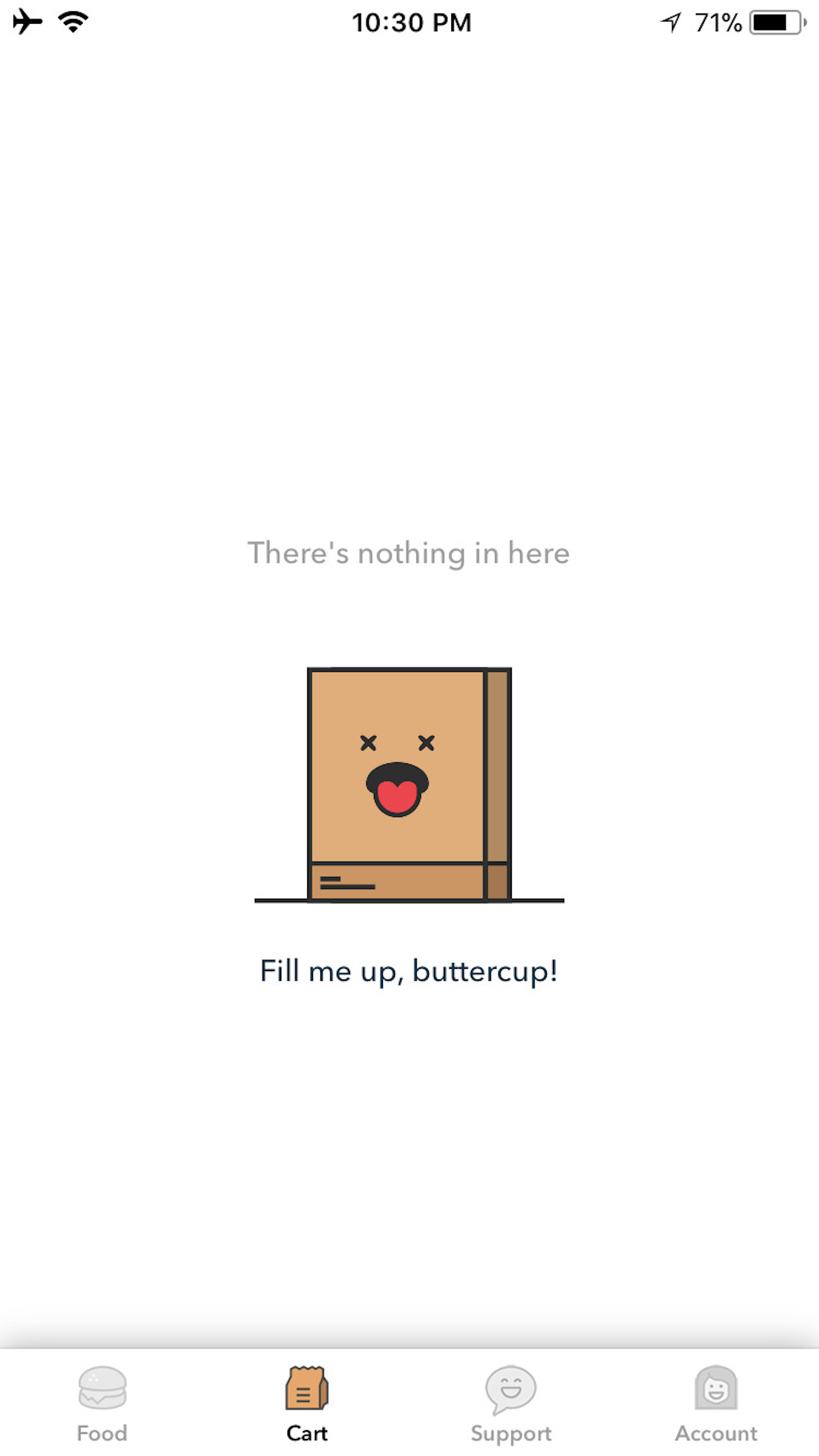 humor-in-design-zomato-empty-cart