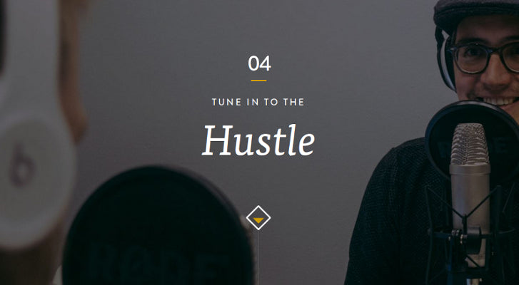 Web Design and Development Podcasts: Hustle