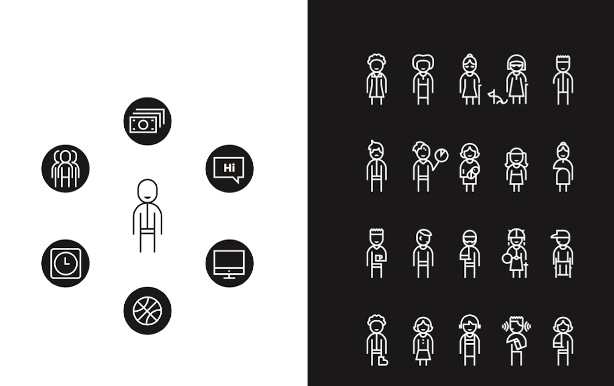 inclusive design: people
