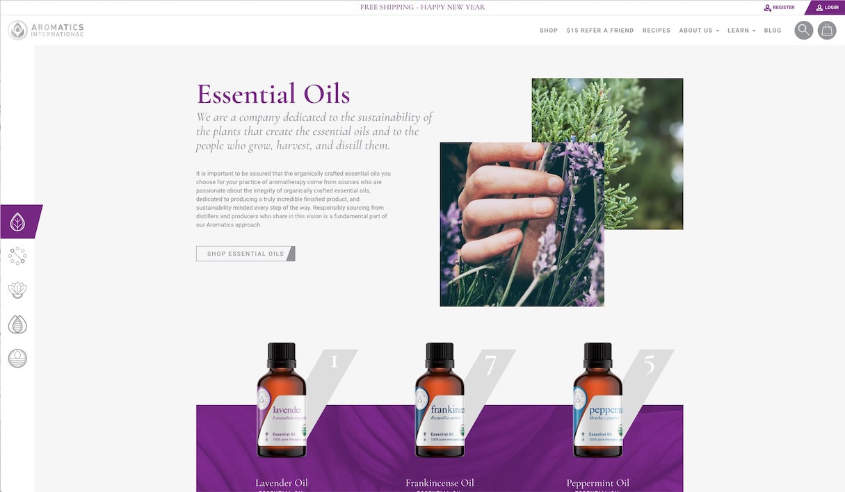 inspiring-shopify-stores-aromatics-international