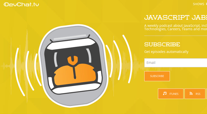 Web Design and Development Podcasts: JavaScript Jabber