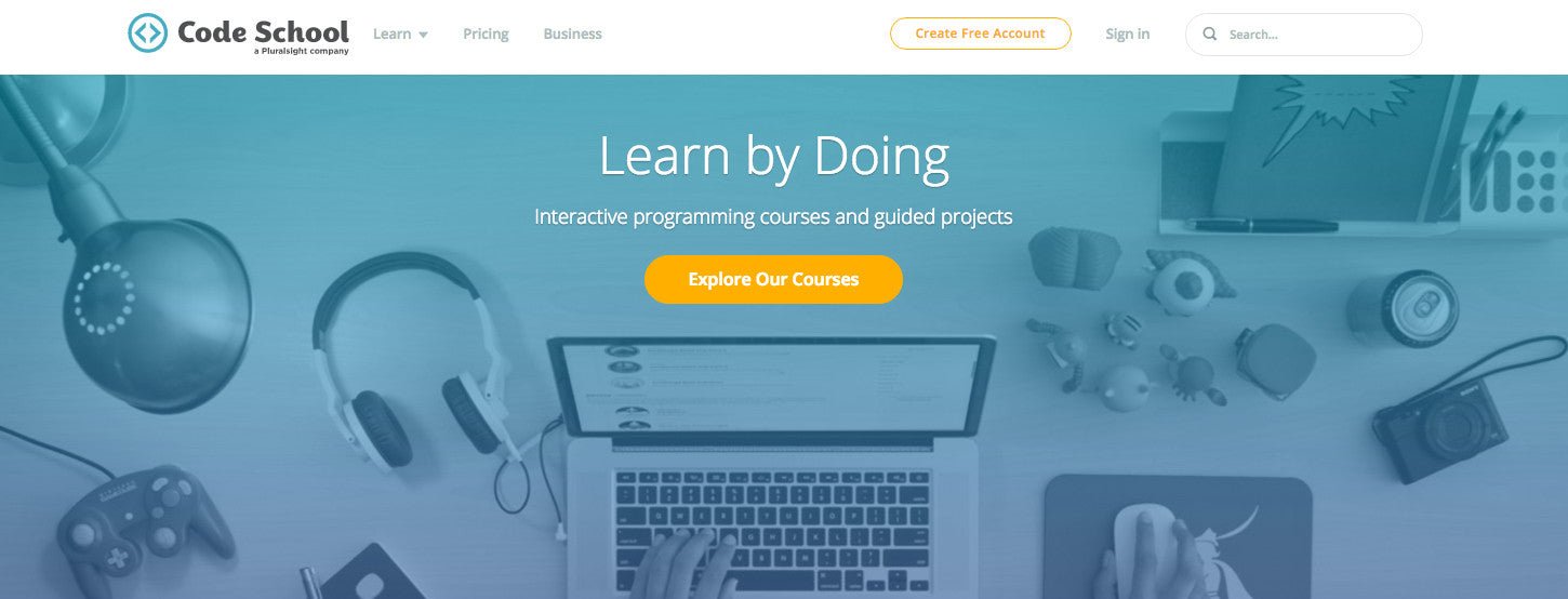 Learn Web Design: Code School