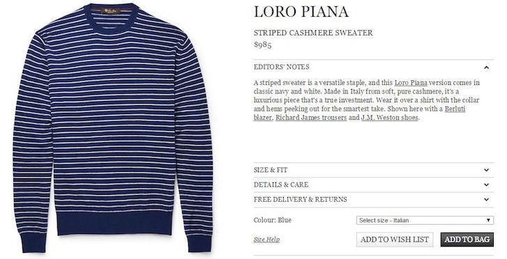 How to Design Product Pages That Convert: Loropiana