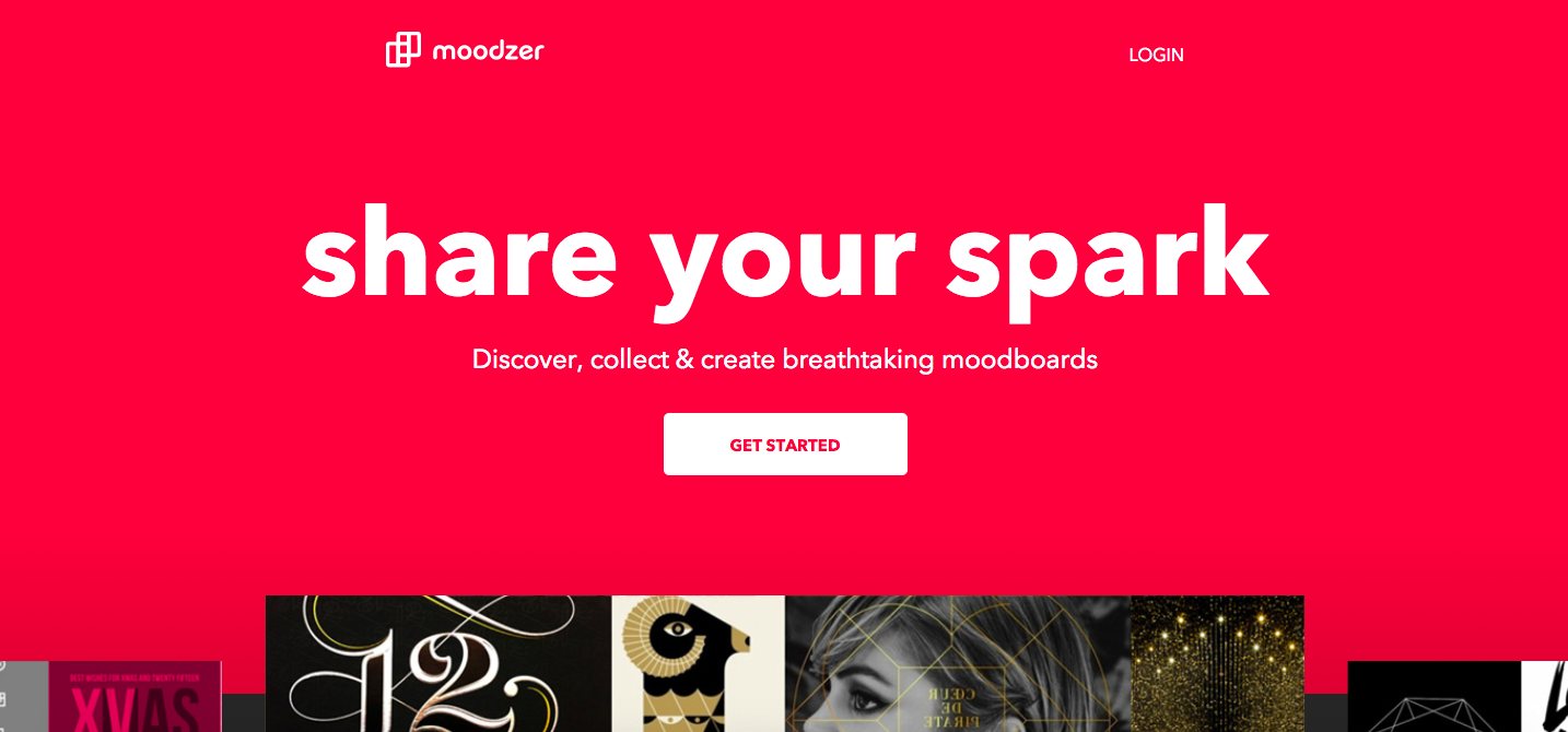 Mood Board Apps: Moodzer