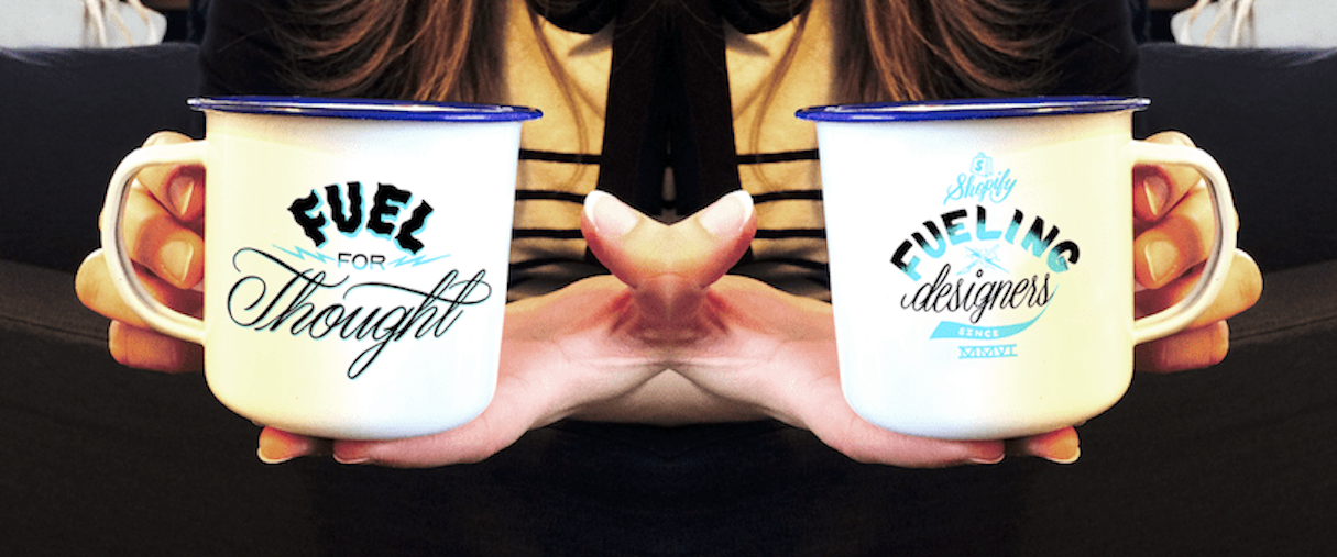 Designing for Designers: Jen Mussari on her Shopify Partners Mug Design