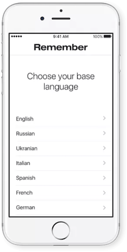 multilingual digital products: language selector app
