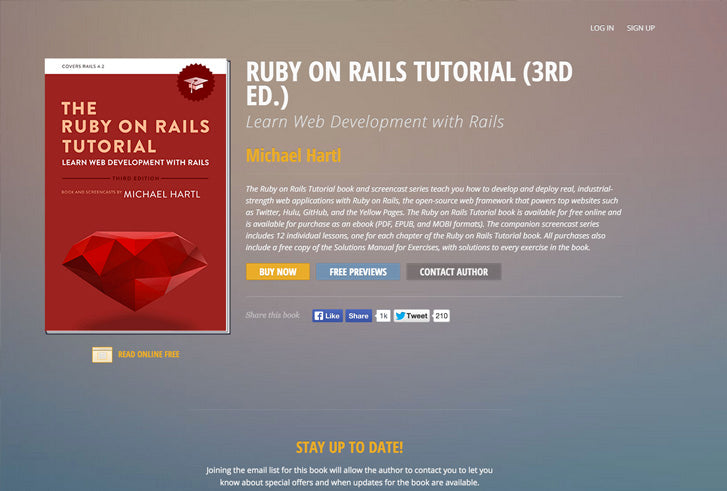 Learning How to Code, the Long Way Around: Ruby On Rails Tutorials