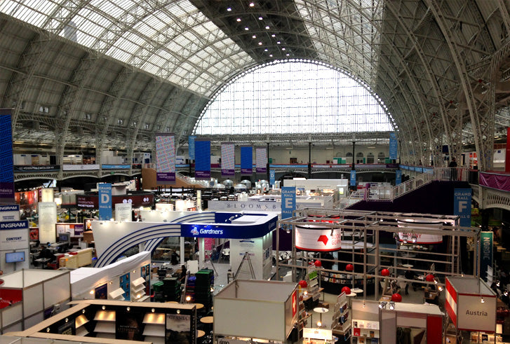 Learning How to Code, the Long Way Around: Setting up at the London Book Fair, April 2015