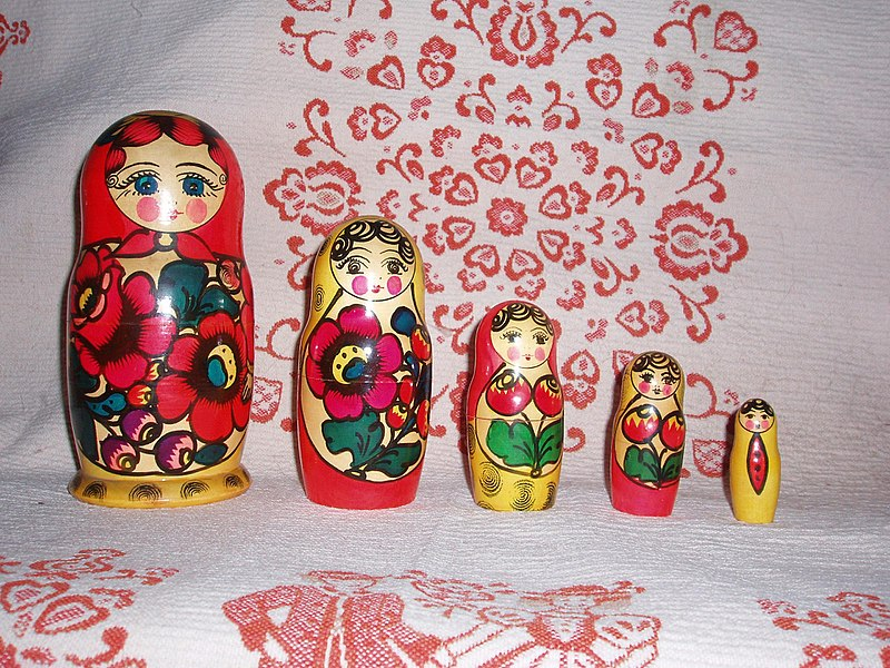 progressive disclosure Matryoshka doll