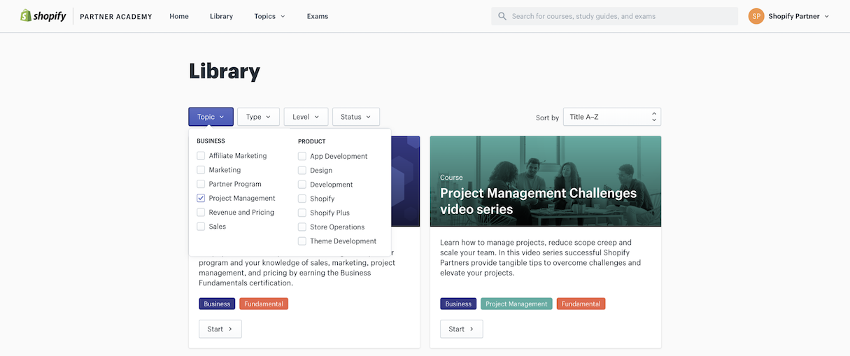 project-management-video-course-dashboard