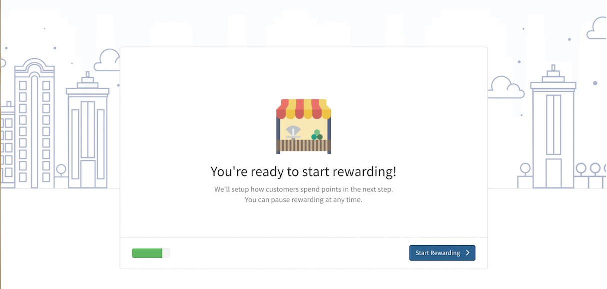 Shopify App Onboarding: Sweet Tooth flow step 4