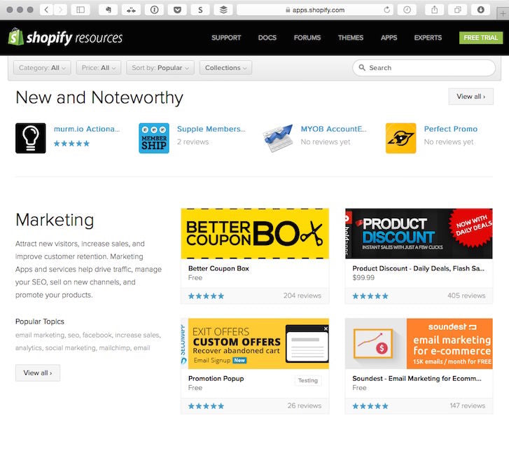 Why You Should Specialize in Ecommerce: Shopify App Store