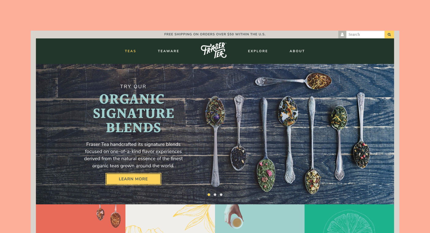 shopify commerce awards 2017 honorable mentions: FWD Creative