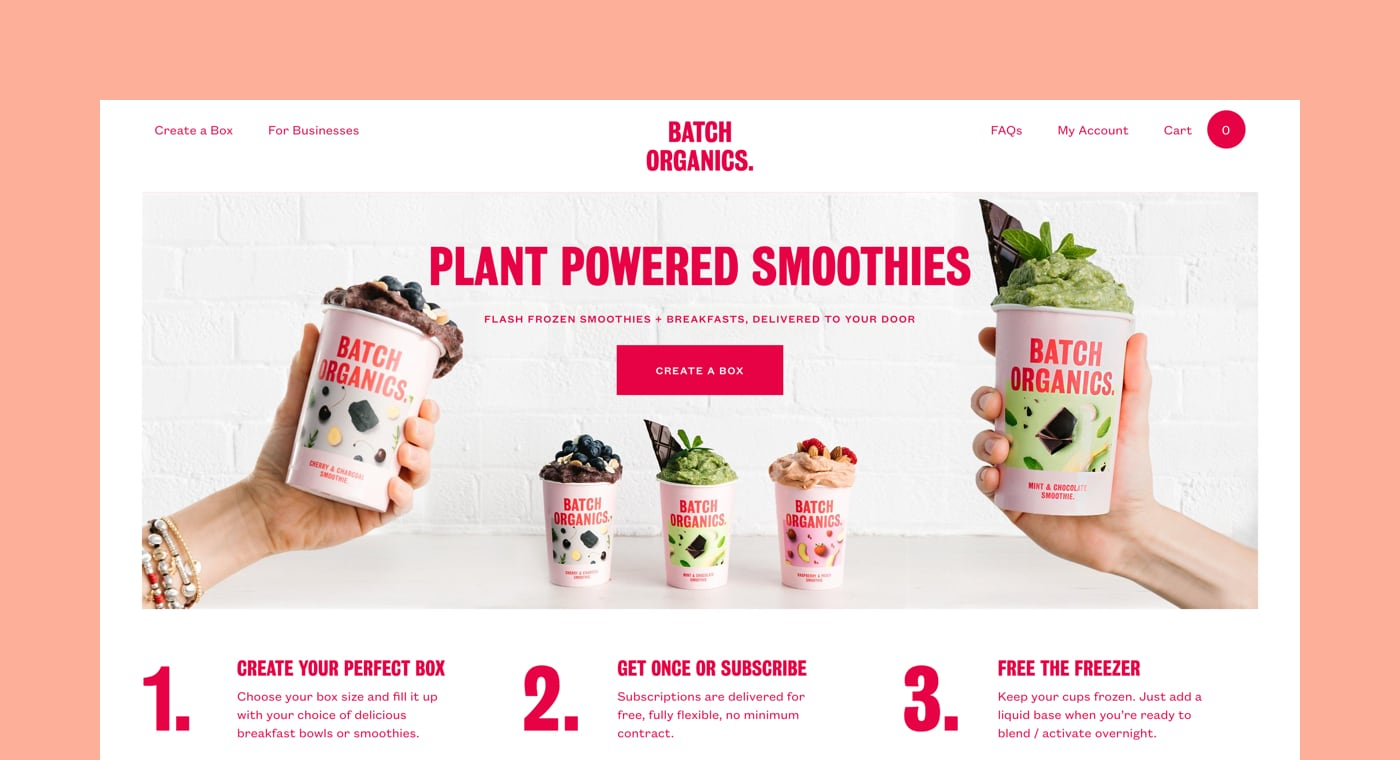 shopify commerce awards 2017 winners: batch organics