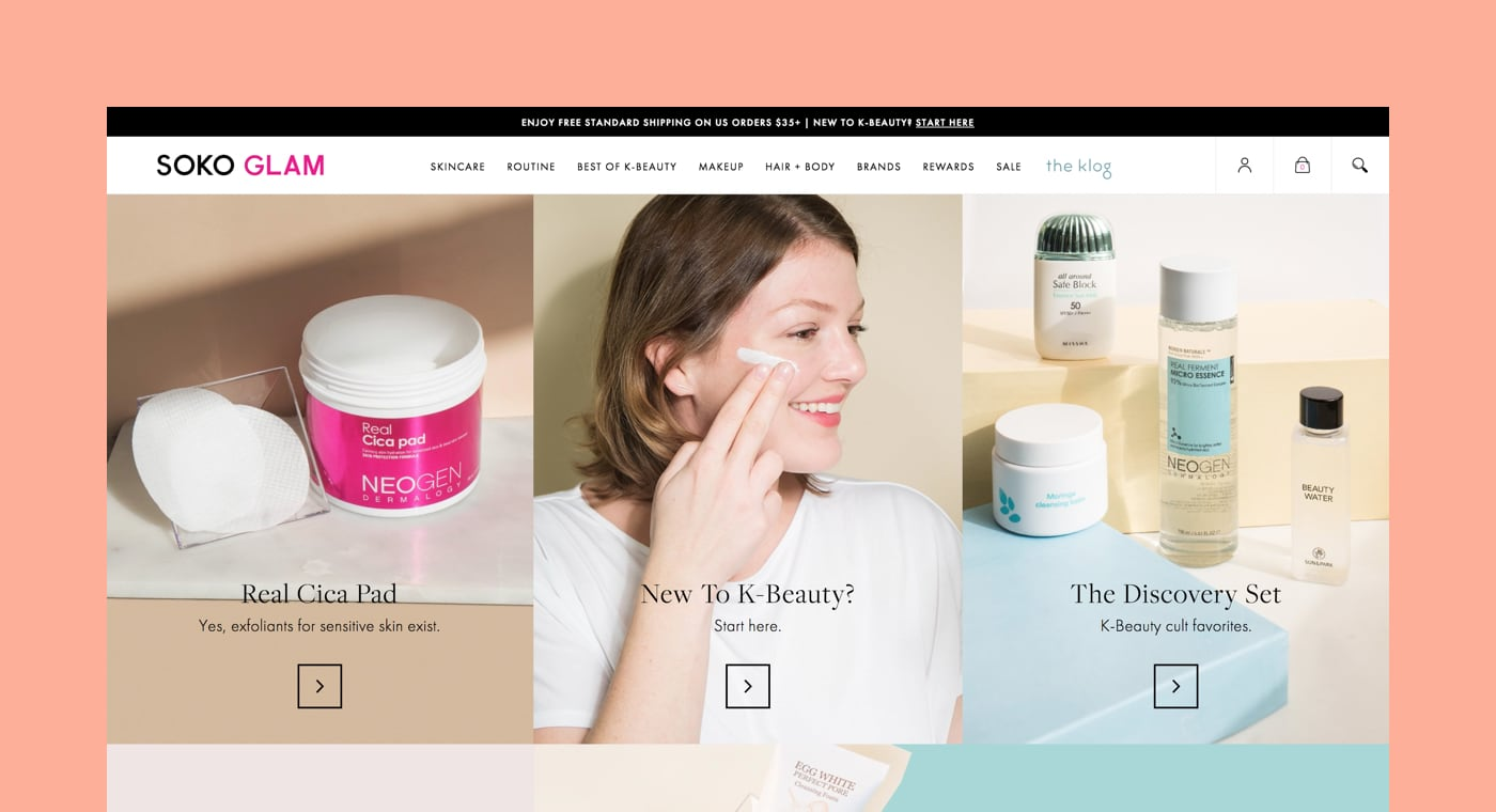 shopify commerce awards 2017 winners: soko glam
