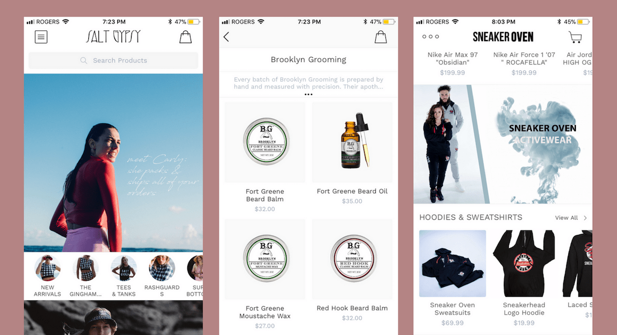 shopify commerce awards apps honorable mentions: tapcart