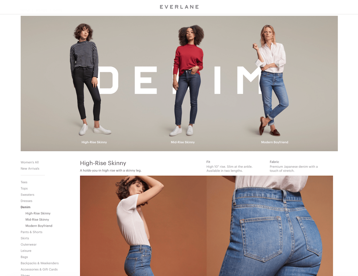 shopify commerce awards: everlane