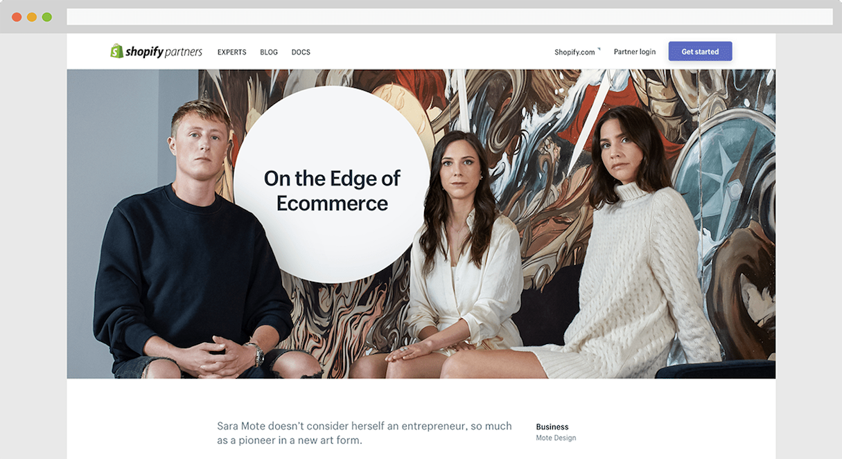 shopify partner program: new